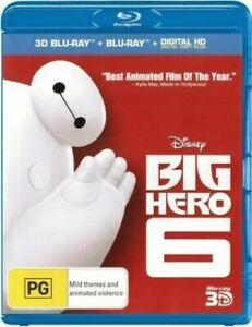 Big Hero 6 : Blu-Ray 3D + 2D : NEW