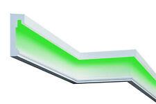 2 Meter Fassadenleiste LED indirekte Beleuchtung stoßfest 75x210mm MC309