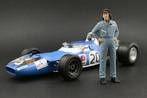 Jackie Stewart Figure for 1:18 Tyrrel Ford 003 Exoto  !! NO CAR !!