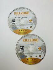 PS3 - Killzone Trilogy 2-Disc (3 Games) - Discs Only - Tested -
