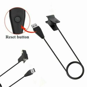 Replacement USB Charger Charging Cable Reset Button for Fitbit Alta Smart Watch