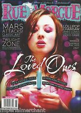 Rue Morgue magazine The Loved Ones Mars Attacks Twilight Zone Lollipop Chainsaw