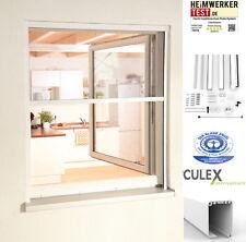 Fliegengitter Alu Rollobausatz für Fenster smart 160x160cm braun 100910402-vh