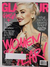 Glamour Magazine December 2016 Gwen Stefani Zendaya Women of the Year