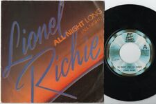 "LIONEL RICHIE All Night Long 7"" VINYL"