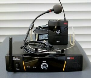 AKG SR40 Funkstrecke / Funkmikrofon Single Pro 2/2