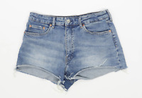 Womens H&M Blue Denim Shorts Size 12/L2