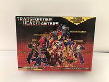 Transformers Headmaster Warriors Gift Set