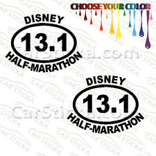 "2 of 5/"" 13.1 Disney Tinker Bell Half Marathon //B run car bumper stickers die cut"