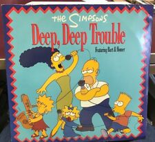 "THE SIMPSONS DEEP DEEP TROUBLE / SPRINGFIELD SOUL STEW UK 12"" 1991 GEF 88T NEW"