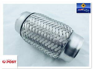 """Stainless Exhaust Flex Bellow Flexible Joint Pipe Various Sizes 2"""";2.25"""";2.5"""";3"""""""