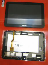 "DISPLAY+TOUCH SCREEN +COVER ORIGINALE SAMSUNG PER GALAXY TAB P7310 8,9"" FRAME GT"