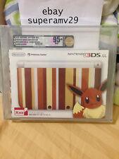 NINTENDO 3DS LL EIEVUI EDITION BUNDLE VGA 95+ ARCHIVAL CASE JAPAN RELEASE