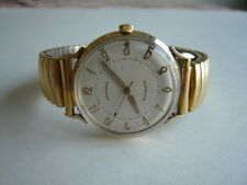 Vintage Men Automatic Watch Hamilton 10K Gold Filled Micro Rotor 666 Works Great