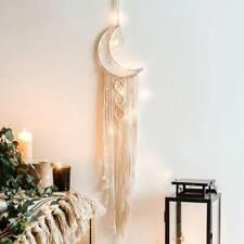 Wall Hanging Tapestry Macrame Moon Dream Catcher Handmade Bedroom Home Decor
