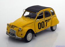 1:18 Solido Citroen 2cv JAMES BOND 007 FOR YOUR EYES ONLY 1981 Yellow