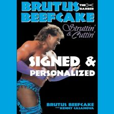 Brutus the Barber Beefcake : Struttin' and Cuttin' Autobiography by Kenny...