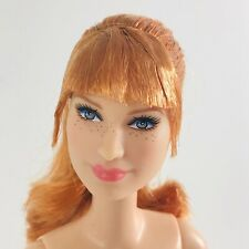 Nude Barbie Jurassic World Claire Doll Red Hair Articulated Bryce Dallas Howard
