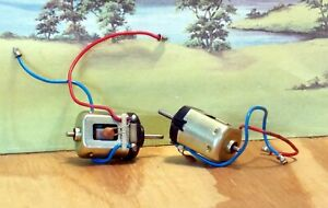 SCALEXTRIC MOTOR (EARLY) WITH LEADS (QTY 2) NOS