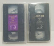 AEROSMITH VHS LOT Permanent Vacation 3 X 5 Things That Go Pump in the Night
