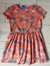 Disney George girls Moana summer dress age 5-6  jersey cotton