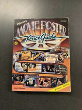 Movie Poster Price Guide Book 1986
