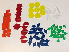 Translucent Pattern Blocks / 150 Pc. Set for use with light tables