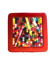 New listing Crayola Crayon Plastic Case Red -Hallmark 2014 - with Crayons - Holds 75 Crayons