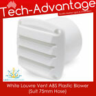 "White Bilge Blower 75mm (3"") Tail End Exhaust Outlet Vents - Boat/caravan/yacht photo"