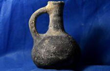 Iron age II JUDAEA / ISRAEL KINGDOM Black Juglet 9-8 Century BC. Ancient Judea.