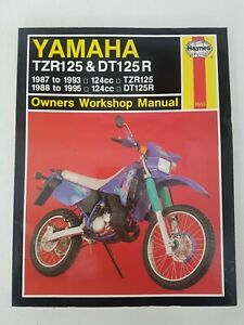 Yamaha TZR125 & DT125R 1987 to 1995 Haynes Manual