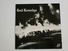 Dead Kennedys Fresh Fruit For Rotting Vegetables-LP-UK-1981-Includes poster