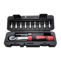 "1/4"" Drive 2-14Nm 2-24Nm Bike Torque Wrench Repair Tool Kit Set Ratchet Spanner"