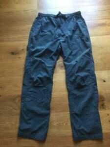 Rohan Ladies Walking / Hiking Trousers Size M 12/14 Khaki/Grey