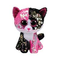 "New Ty Beanie Boos 6"" Sparkle The Special CAT Plush Stuffed Toy Gift"