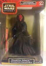"Star Wars Ep 1 Darth Maul Character 9"" Figure Glow In The Dark Lightsaber"
