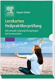 Lernkarten Heilpraktikerprüfung: 300 aktuelle Originalprüfungsfragen + Kommentar