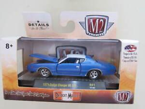 M2 MACHINES - Scale 1/64 1971 Dodge Charger SE 383 R41 Mini Car D31