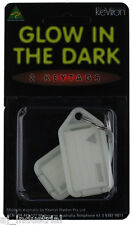 Glow in the Dark Kevron - Key Tags ( Double Pack ) Keyring ID Bag