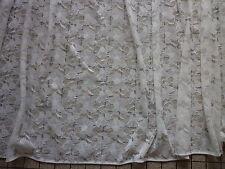 TRES GRAND RIDEAU / PANNEAU  largeur 1m30- hauteur 2m45  blanc voilage   n ° 2