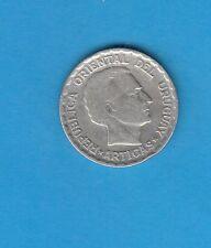 §   Uruguay Silver Coin  50 Centimos   en argent 1943