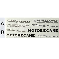 Motobecane full set of decals vintage