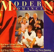 "MODERN ROMANCE best years of our lives ROM 1 uk wea 1982 12"" PS EX/EX"