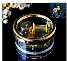 Gorgerous Circle in Gold Wind Up Music Box : Ghibli Howl's Moving Castle
