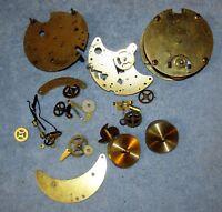Vintage SETH THOMAS Ship's/Mantel Clock Movement (7) Jewels A207-000 +1 J489