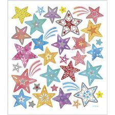 Creativ Sticker Sheet Shooting Stars Adhesive Labels Metallic Foil Finish
