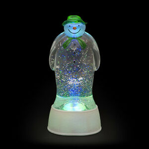 Waterfilled 22.5cm The Snowman with Colour Change LEDs