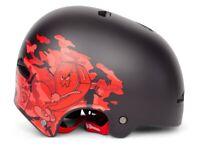 SHADOW CONSPIRACY FEATHERWEIGHT HELMET SM / MD BMX BIKE BIG BOY MATTE BLACK NEW
