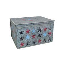 2 x Stars Design Jumbo Multi Purpose Storage Chests Toys Bedding Clothes NEW