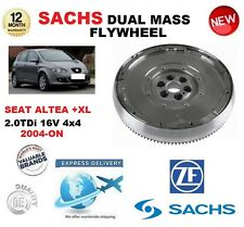 FOR SEAT ALTEA 5P1 5P5 5P8 2.0 TDi 16V 4x4 2004-ON SACHS DMF DUAL MASS FLYWHEEL